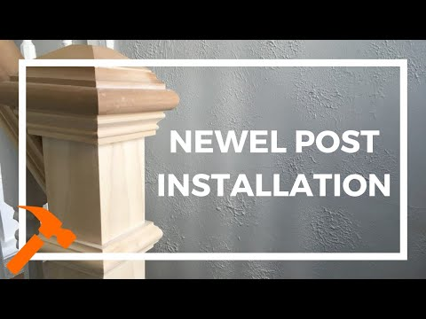 Notched Box Newel Post For Stairs