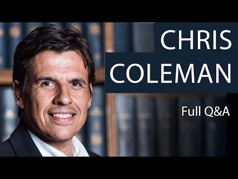 Chris Coleman   Full Q&A   Oxford Union
