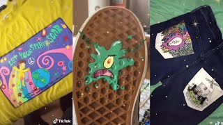 painting on clothes compilation /tiktok/
