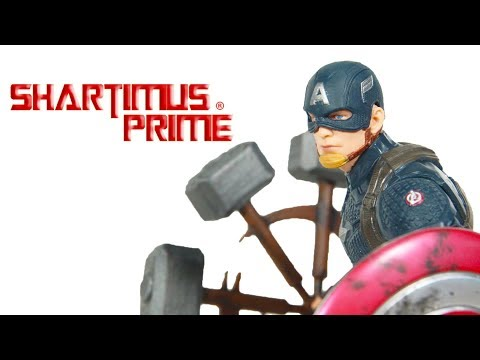 Marvel Legends Spinning Hammer MCU Mjonlir Custom Avengers Endgame Worthy Cap Accessory Review