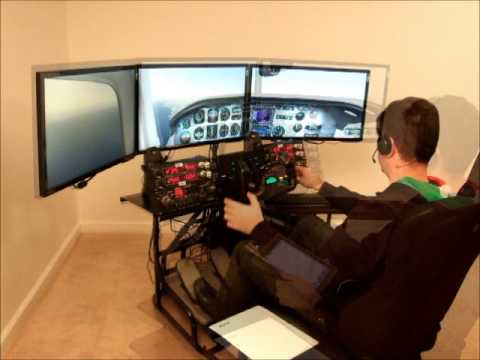 Volair Sim Flight Simulator Cockpit  - IFR Flight with PilotEdge.net