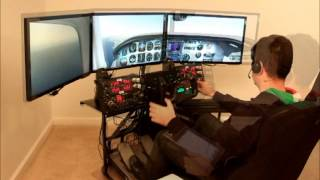 volair sim flight simulator cockpit ifr flight with pilotedge net