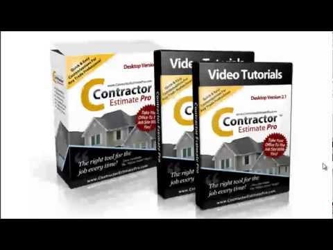 Contractor Estimate Software