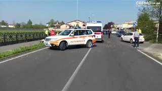 Crem@online: scooter contro furgone ad Offanengo, un ferito