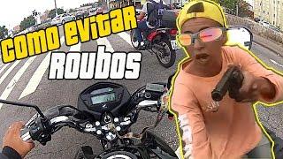 EVITE ROUBOS E FURTOS DE MOTO