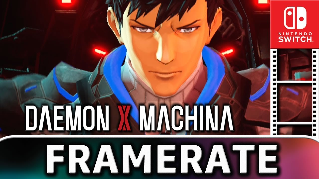 DAEMON X MACHINA | Docked VS Handheld | Frame Rate TEST on Nintendo Switch