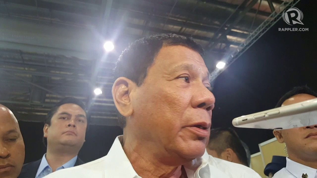 Philippines' Duterte to U.S. over aid: 'Bye-bye America'