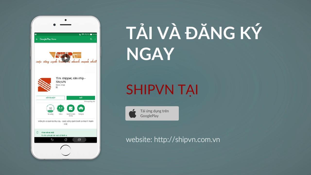 Tìm shipper, săn ship – ShipVN