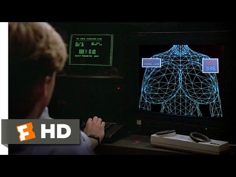Weird Science 212 Movie   Making a Girl 1985 HD