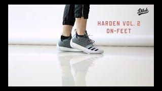 adidas harden 2 on feet