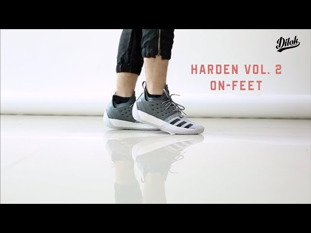 bbf7489fad1  adidas Harden Vol 2 Concrete On Feet by DilokStore TH - YouTube