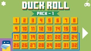 Duck Roll: Pack 1 levels 17 - 32 Walkthrough Guide & i OS iPhone 6S Gameplay (by Mamau)