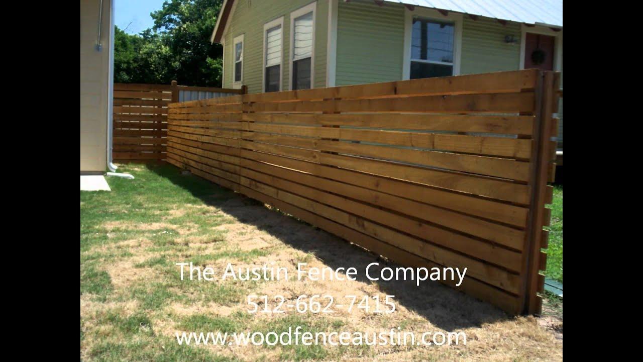 Horizontal fence kyle tx 512 949 8943 youtube baanklon Images