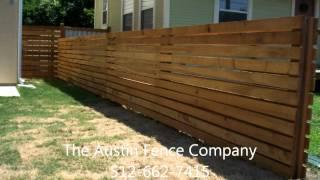 Horizontal Fence Kyle, Tx 512-949-8943