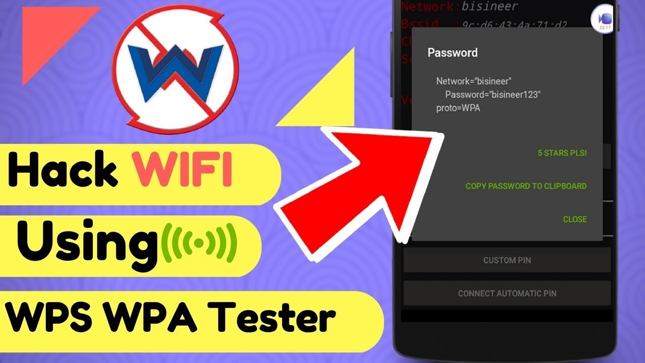 how to hack wifi using wps wpa tester apk ,hack wifi near me on android