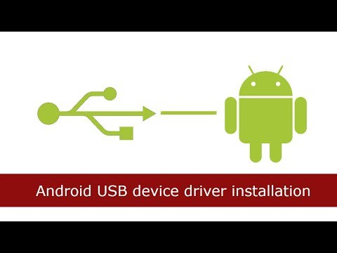 Android USB Device Driver Installing In Windows