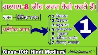 Class10||जीव जनन कैसे करते है ||Part-1|| in hindi|| by Ranjit sir||abhiclasses||