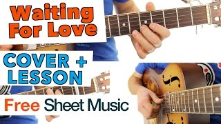 ► Avicii - Waiting For Love ★ Guitar Lesson ★ Tutorial
