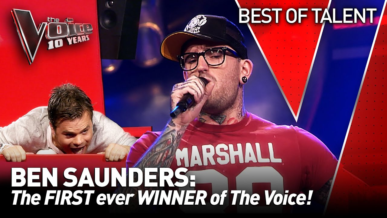 SOULFUL tattoo artist made the Coaches go WILD on The Voice | The Voice 10 Years