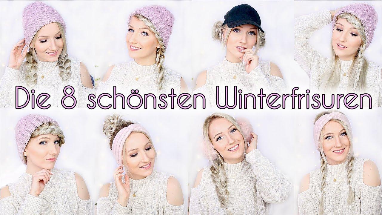 Die 8 Schönsten Winterfrisuren Mit Mütze Stirnband Co