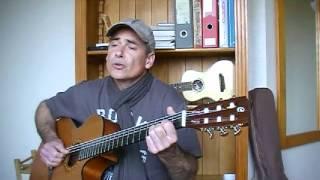 maxime le forestier ..parachutiste  guitare ( cover )