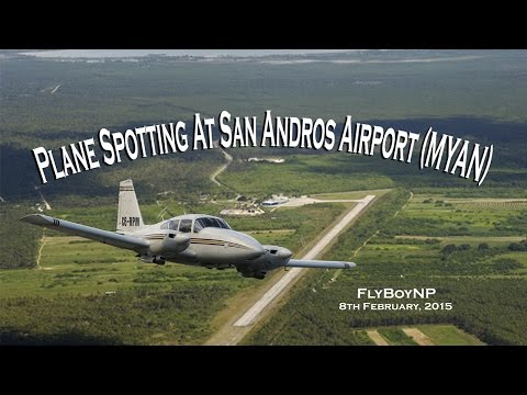Plane Spotting at San Andros Airport (MYAN) Episode 2
