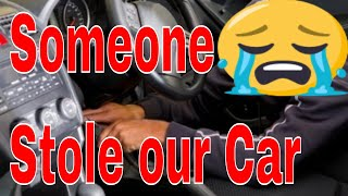 Someone stolen our car (Roblox)
