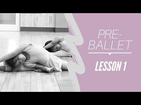 Pre Ballet Lesson 1