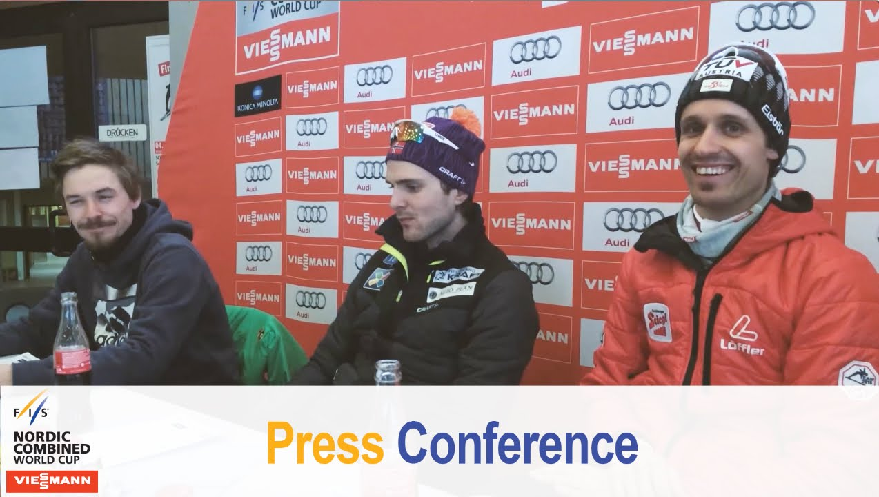 Press conference, schonach, final ind. gundersen 06.03.2015