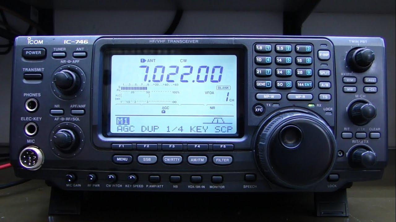 ALPHA TELECOM: ICOM IC-746 PERDEU POTÊNCIA DE TRANSMISSÃO EM TODAS AS BANDAS