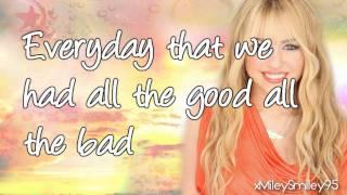 Hannah Montana I 39 ll Always Remember You with lyrics.mp3