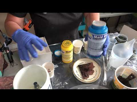 Resin Pigment Canada- easy mold making part 1