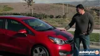 2013 Kia Rio Sedan Test Drive Compact Car Video Review