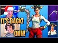 Streamers React to *RARE* Candy Axe and Red-Nosed Raider BACK in the Shop! - Fortnite Moments