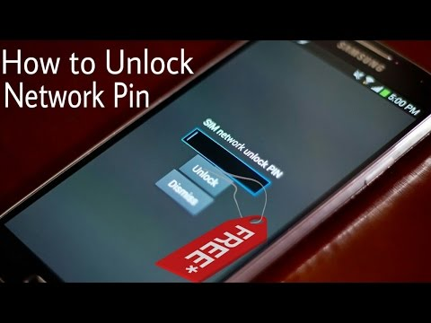 how to unlock network lock pin on samsung