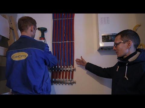 Как работает отопление и электрика у меня в доме.