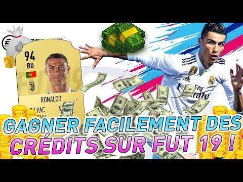 COMMENT GAGNER FACILEMENT BEAUCOUP DE CREDITS SUR FUT 19 !!
