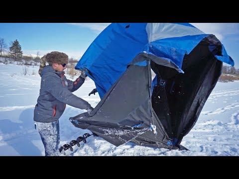 Ice Fishing Gone WRONG