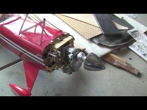 Great Planes 1/3 Pitts Special w/ Zenoah G45 + Electronic Ignition