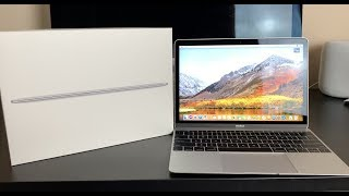 Apple MacBook 12-Inch Unboxing vs. NEW 2018 MacBook Air - Which is a better value in 2018?