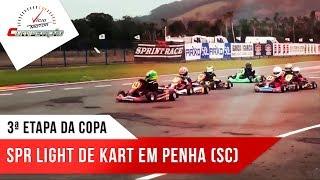 3ª Etapa da Copa SPR Light de Kart em Penha (SC) I Programa Competição