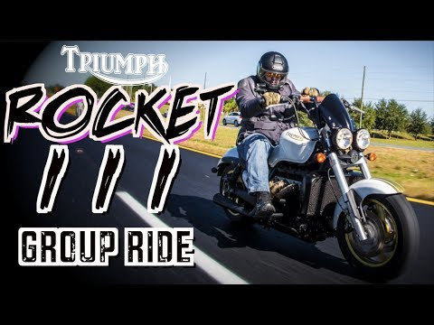 Triumph ROCKET  vs Harley Davidson | Sugar Loaf Run