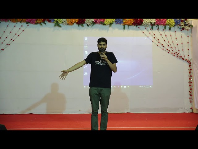 Raghav Venkatesh from MALL at The Ahimsa Festival 2017
