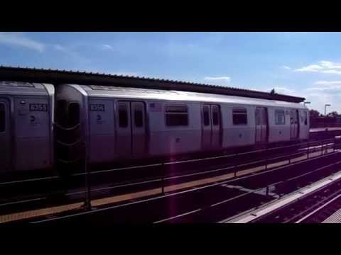 (J) train action at 85th Street-Forest Parkway (BMT Jamaica Line) (Weekend G.O.)