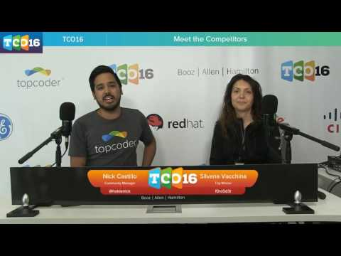 Topcoder Open 2016 - Meet the Competitors #programming #design