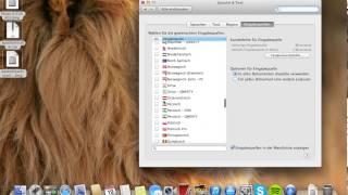 Tastatur Sprache wechseln/Mac OS X 10.8.3