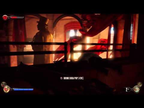 128 Bioshock Infinite Burial At Sea DLC 1999 Mode Walkthrough HD PS3 (Finks Code Door) |