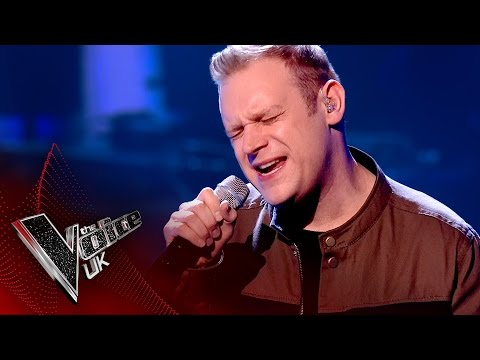 Jason Jones performs 'Use Somebody': The Semi Finals  The Voice UK 2017