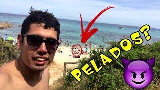FOMOS NA PRAIA DE NUDISMO ST. TROPEZ - OLHA NO QUE DEU!!!