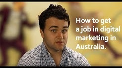 How to get a job in Digital Marketing in Australia